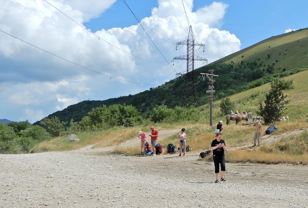Кабардинский перевал...