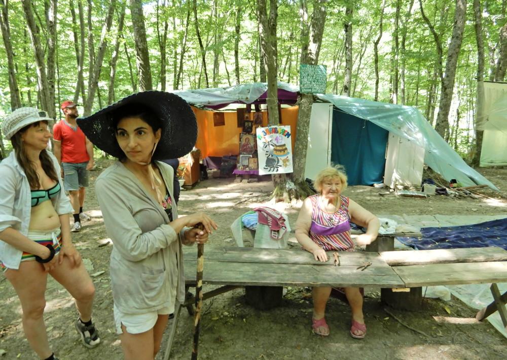 В лагере Св. Феодора