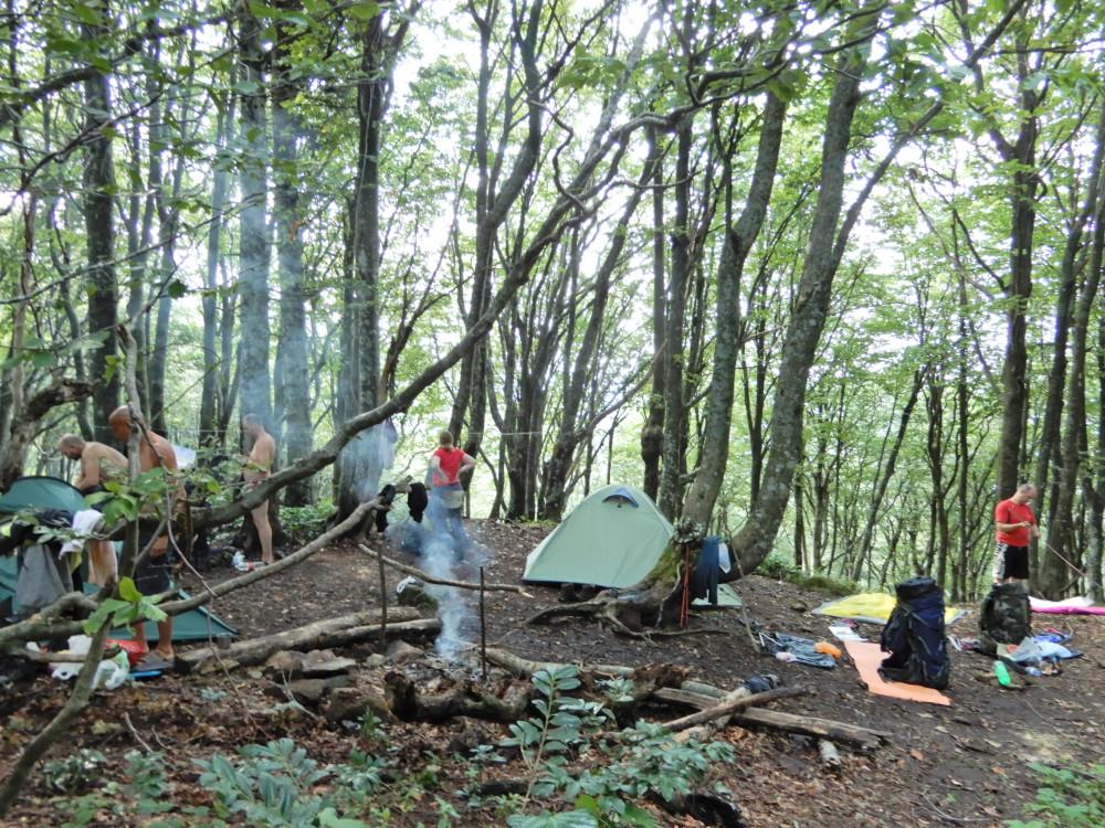 Лагерь под Семиглавой