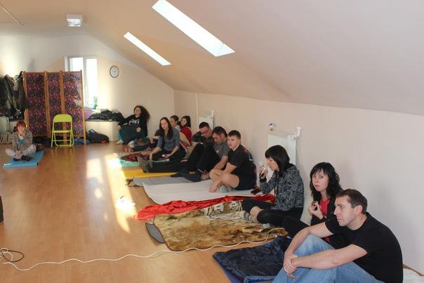 """17-18 декабря 2011 , Йога-студия """"Анандам"""" (4)"""