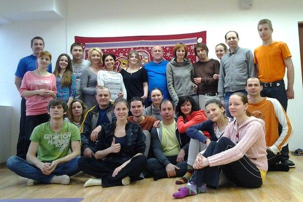 """1 - 2 марта 2014 года,  Центр йоги """"Сурья"""""""
