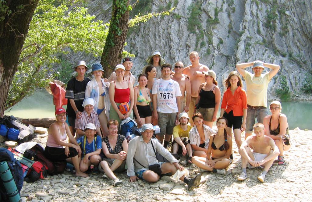 Пшада-Папайская Одиссея — август 2006