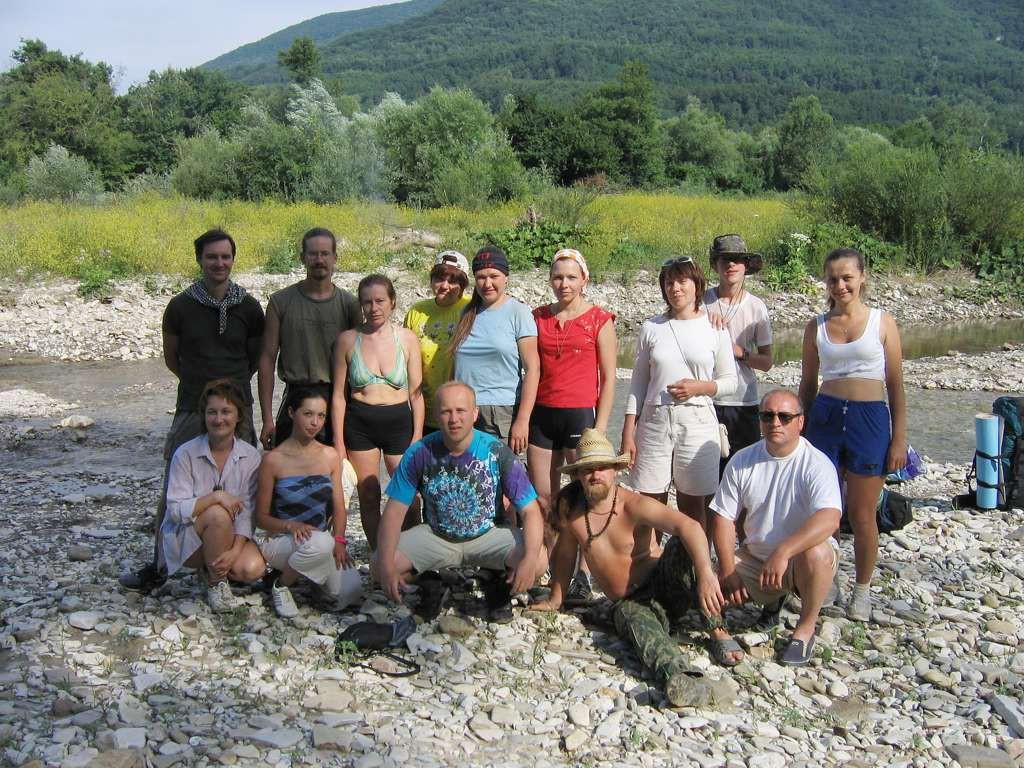 Первый «Солнечный» тренинг — июнь 2005
